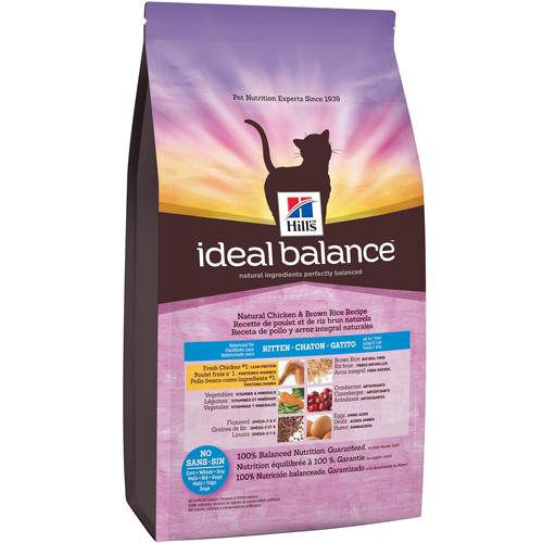 Natural Balance Dog Food Coupons >> Ideal Balance™ Natural Chicken & Brown Rice Recipe Kitten