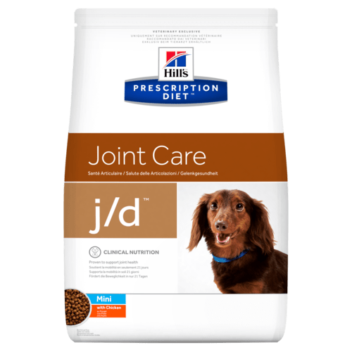Prescription Diet Dog Food >> Prescription Diet™ j/d™ Canine Mini with Chicken